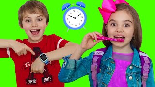 Put On Your Shoes Let's Go Song | Polina Fun Clothing Sing-Along Nursery Rhymes Kids Song