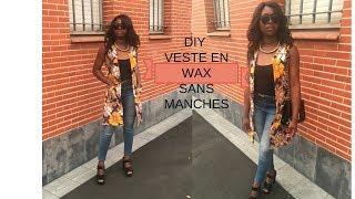 bonjour, sur cette vidéo je vous montre comment réaliser une veste en wax sans manches snapchat : glammyparisoff instagram : glammyparisoff Facebook ...