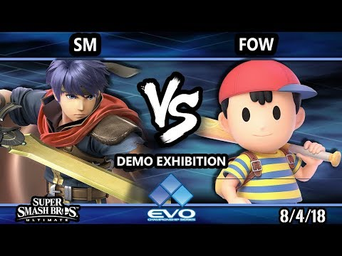 Evo Demo SSBU - SM (Ike) Vs. FOW (Ness) Smash Ultimate