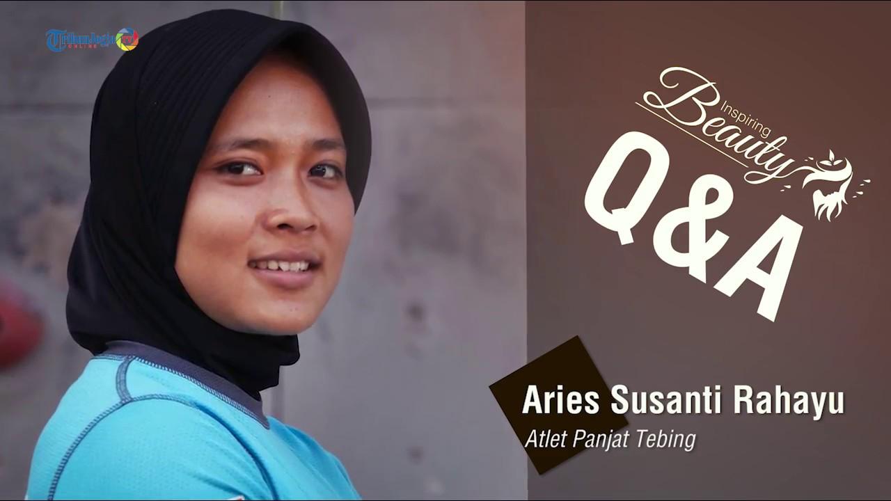 Qna Aries Susanti Rahayu Atlet Panjat Tebing Inspiring Beauty Youtube