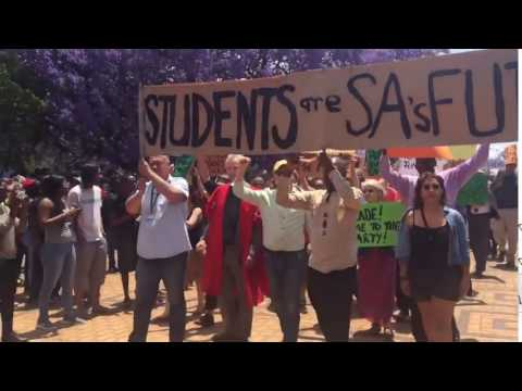 Wits University lecturers support #FeesMustFall protest
