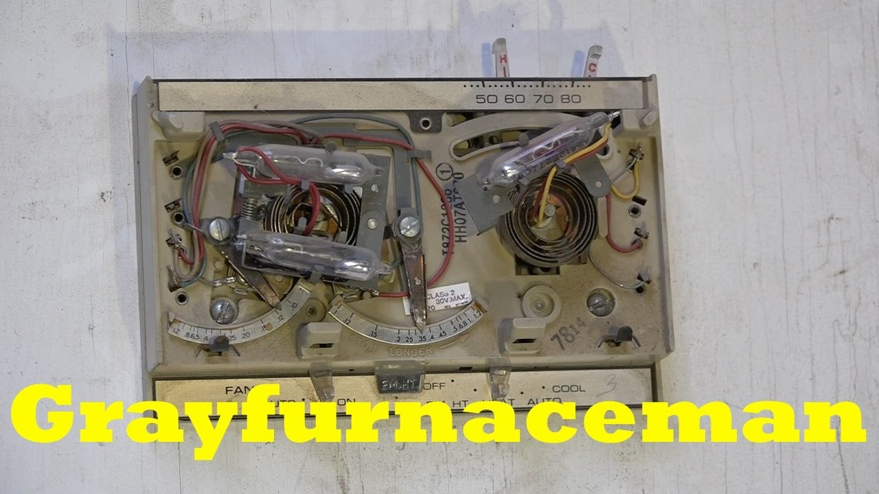 how the 2 stage thermostat works youtube rh youtube com trane 2 stage thermostat wiring diagram