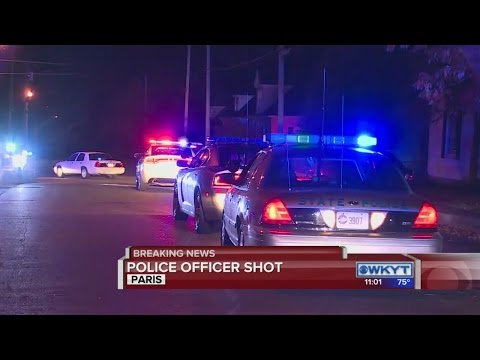 Ky. cop shot during standoff, saved by vest