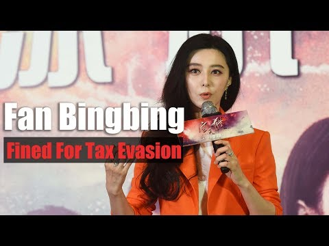 Chinese actress Fan Bingbing apologizes after fined over $128 million for tax evasion