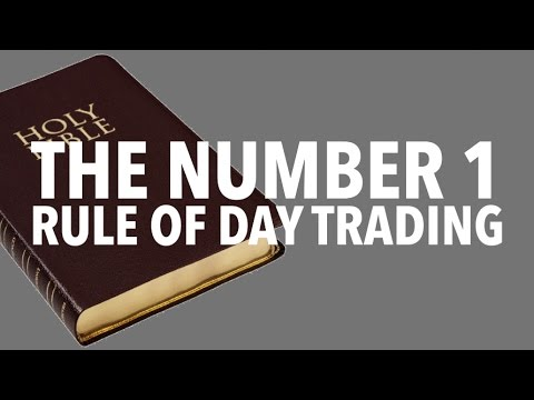 The Number 1 Rule of Day Trading! That 99% of DayTraders Break...