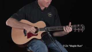 "Taylor Guitars ""512ce"" Demo"