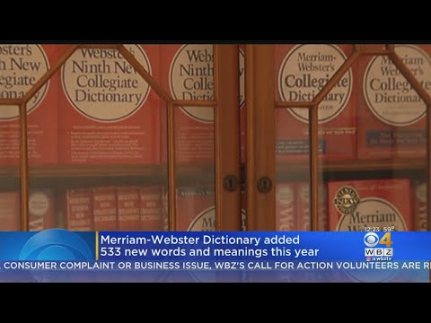 Andi and Kenny - Merriam-Webster Dictionary Adds 533 New Words