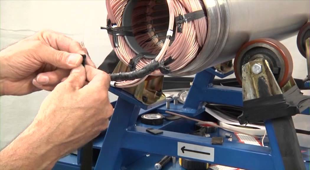 MMS 8 Inch - Motor cable connecting PE/PA - Grundfos Service Video