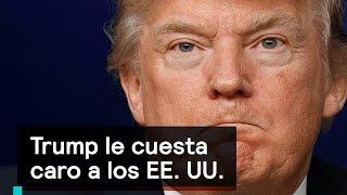 Trump le cuesta caro a los EE. UU. - Foro Global