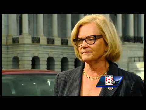 Rep. Chellie Pingree reacts to Pope's speech before Congress