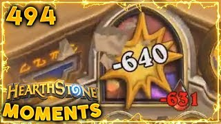 640 DMG Minion!! | Hearthstone Daily Moments Ep. 494