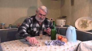 Шипучее вино. Вино из яблок. Сидр - 7й фильм. Шампанское.