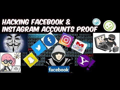 HACKING FACEBOOK INSTAGRAM ACCOUNTS WITH PROOF(100% Working)😍😍😀