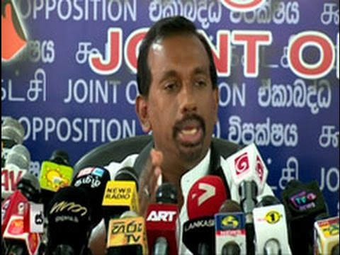 JO claims agreement with Chinese firm on Hambantota Port is illegal