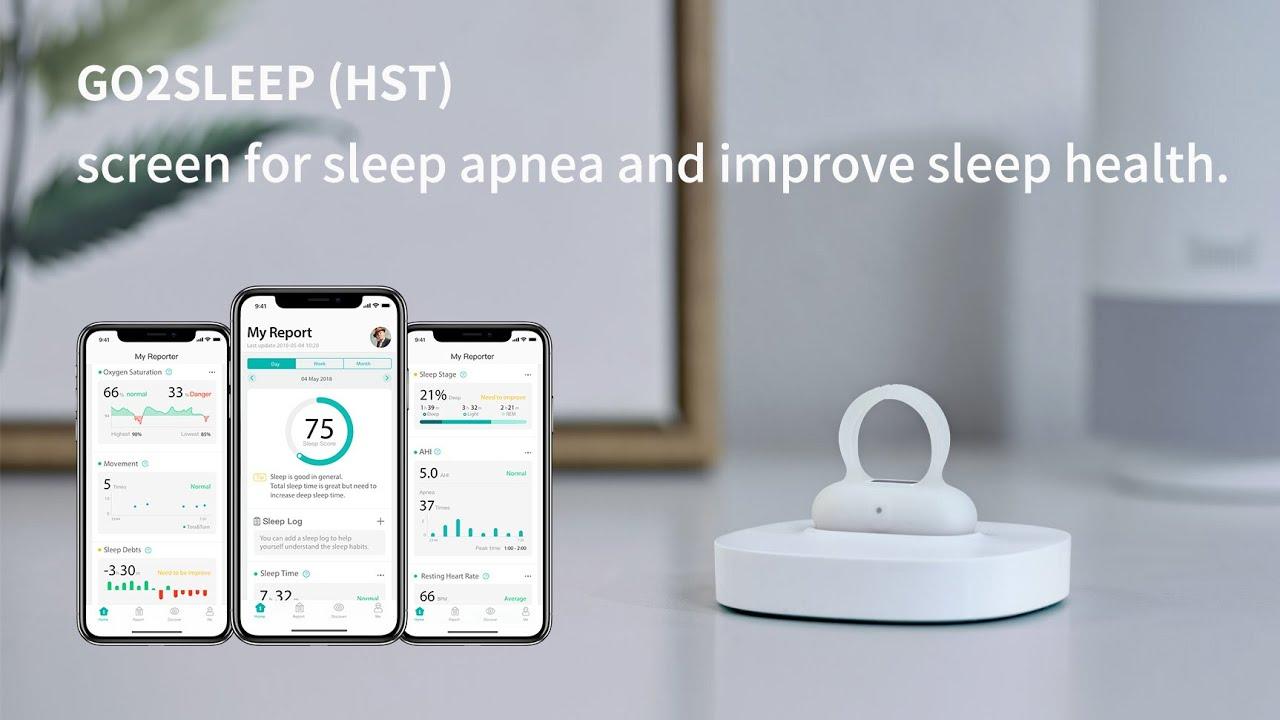 GO2SLEEP // Sleep Tracking Ring video thumbnail