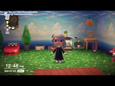 How To Get Animated Wallpaper And Floors In Animal Crossing New