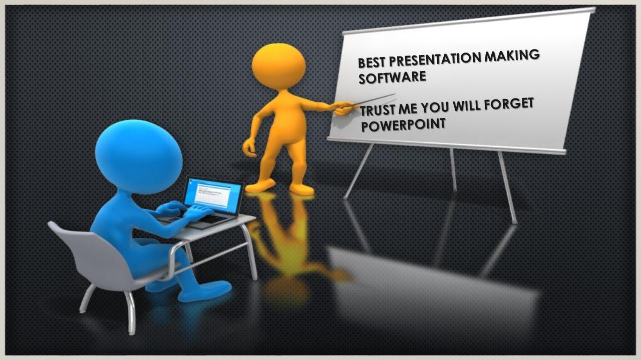 best presentation making software youtube