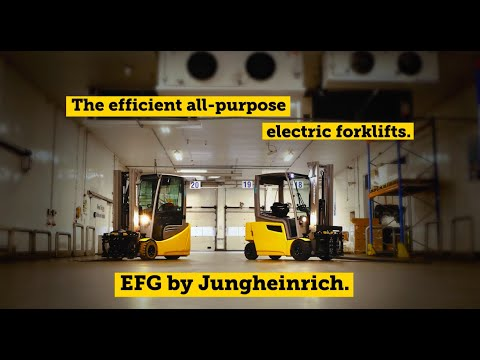 Energy For Growth: The EFG Electric Forklift Truck From Jungheinrich.