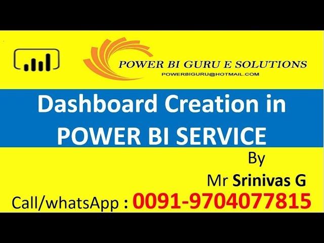 Power BI Dashboard Creation | Power BI Training |Power BI Interview Questions | PowerBI Guru
