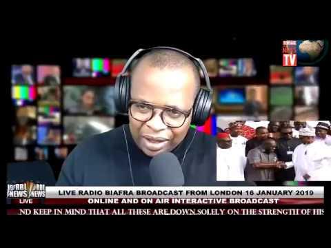 WATCH: Live Broadcast Radio Biafra London, Air Interactive - Uchie mefor (REFERENDUM)