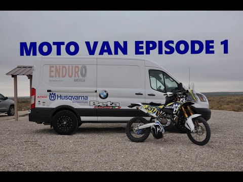 Enduro America's Moto Van Episode 1 * THE RAMP Motorcycle Hauler