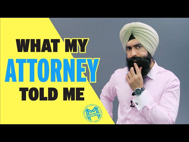 What My Attorney Told Me About Making Money