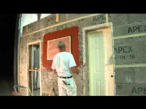 create a window with apex block icf icfs insulated