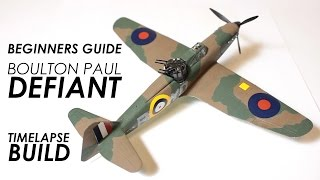 Scale Modelling for Beginners - Airfix Defiant 1:72 Scale