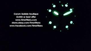 Corum Bubble Boutique White 45mm 163.150.20