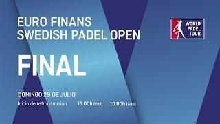 Final - Euro Finans Swedish Open 2018 - World Padel Tour