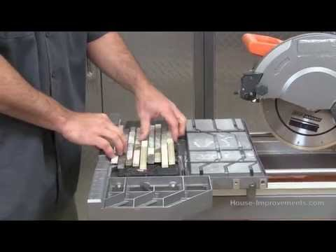tile saw rental the home depot youtube