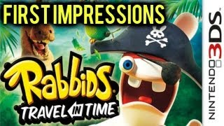 Rabbids Travel in Time (3DS) - First Impressions