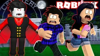 We've been HUNTED by the VAMPIRE! -Roblox Cryptik