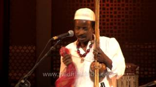 Sidi Goma African-Indian from Gujarat performs sufi