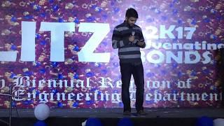 shayari in college reunion पार्ट -2/ जब शायर last year of Engineering mai aaya 2018/JU/full HD