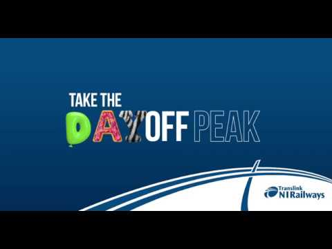 1/3 Off NI Railways - Day Off Peak
