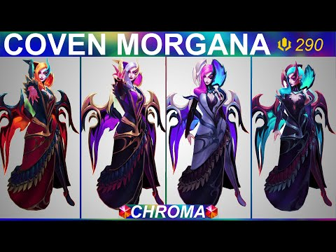 Coven Morgana Chroma 2020 - League Of Legends