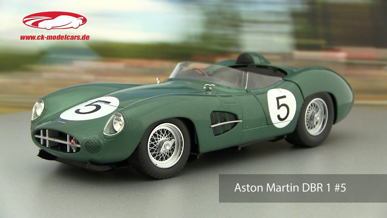 1//18 ASTON MARTIN DBR 1 WINNER 24H LE MANS 1959 CMR CMR113