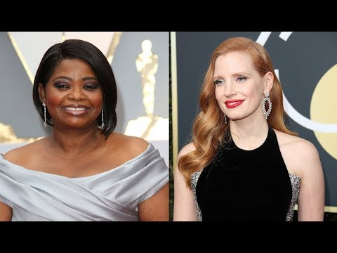 Octavia Spencer Overcome with Emotion Revealing Jessica Chastain Helped Her Earn 5x More