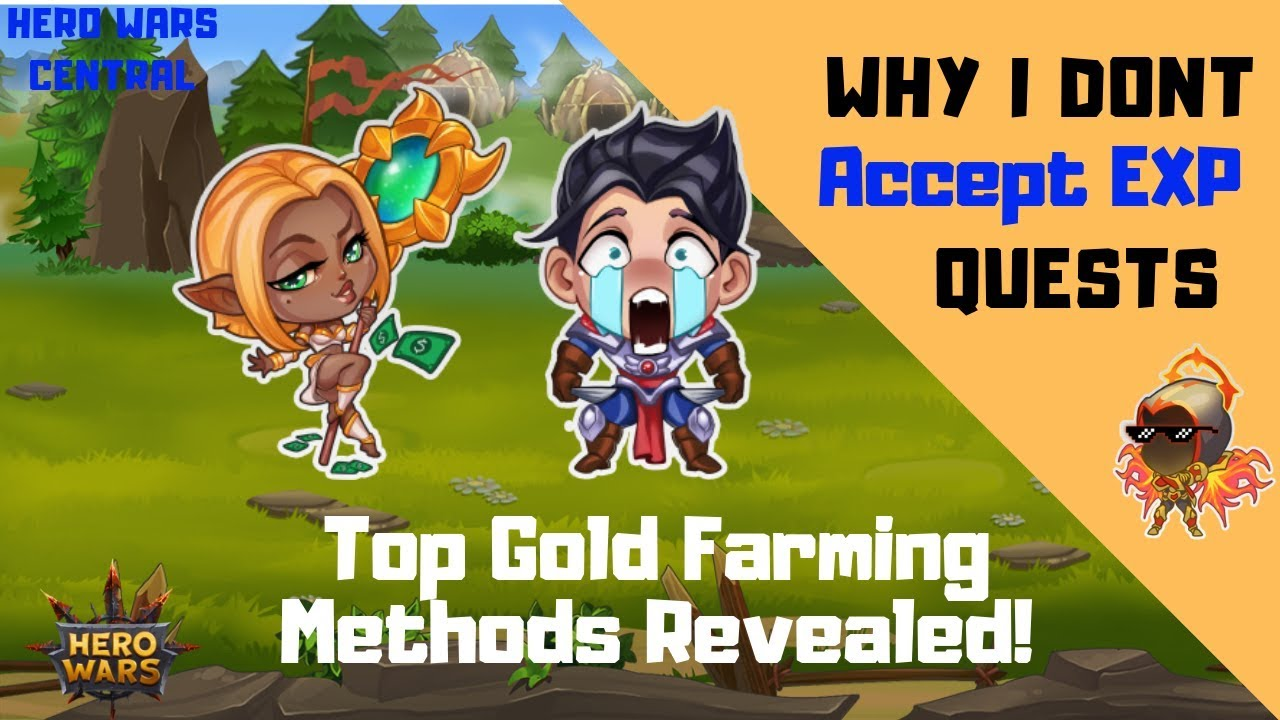Hero Wars   Best Gold Farming Method Revealed