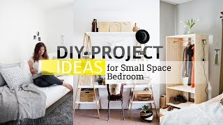 11 DIY Project ideas for Small and Limited Space Bedroom