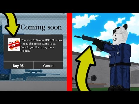 SECRET GAME PASS IN ROBLOX PRISON LIFE