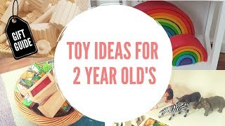 2 Year Old Toy Ideas Montessori Inspired