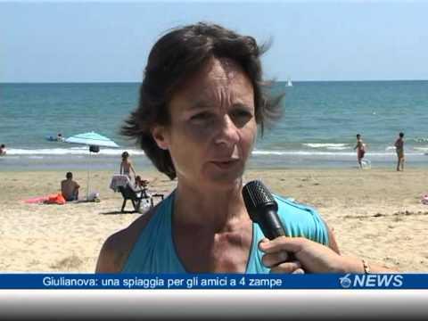 Giulianova: una spiaggia per gli amici a 4 zampe