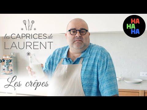 Les caprices de Laurent - Les crêpes