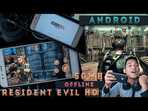 ( 50 MB ) Main Game Resident Evil  HD Di Android | Game Android Indonesia