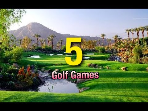 The 5 Best Golf Games 2019* [GOLF GAMES TO PLAY IN 2020]