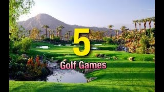 The 5 Best Golf Games 2019*  Golf Games To Play In 2020