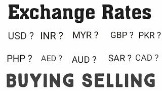 Exchange Rate/Currency Rates Today in Pakistan||US Dollar Saudi riyal UAE Dirham to Pkr||Urdu Hindi
