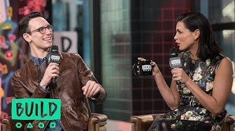 "Morena Baccarin & Cory Michael Smith Discuss ""Gotham"""